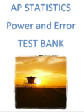 Power and Error Review