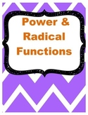 Power and Radical Functions