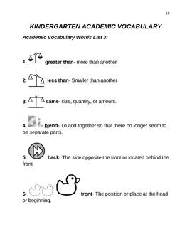 Power in Words:  Common Core Academic Vocabulary Activity