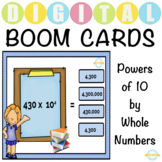 Power of 10/ Multiplication/ Whole number/ Exponents - Boo