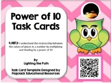 Power of 10 Task Card