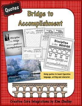 Power of Bridge to Accomplishment - Inspirational Quote
