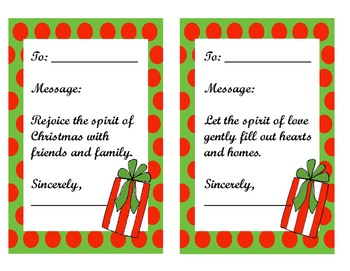 Power of Gratitude A Christmas activity