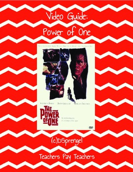 Power of One Movie Video Guide (Apartheid, South Africa, White Man's Burden)
