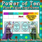 Power of Ten Place Value Card Game