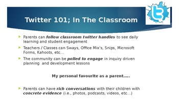 Power of Twitter in Education