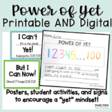 Power of Yet Student Activities and Posters