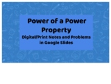 Power of a Power Google Slide Notes/Practice