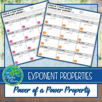 Exponents - Power of a Power Property
