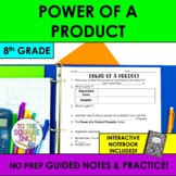Power of a Product Notes