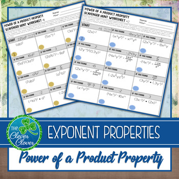 Exponent Properties - Power of a Product