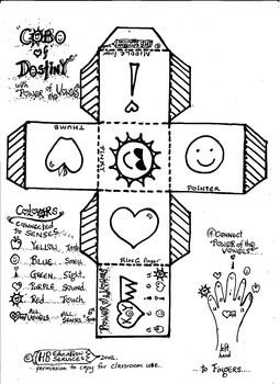 """Power of the Vowels -5 of 5 """"Cube of Destiny"""""""