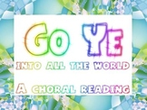 Go and Tell choral reading package