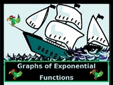 Algebra Power point Graphs of Exponential Functions with GUIDED NOTES