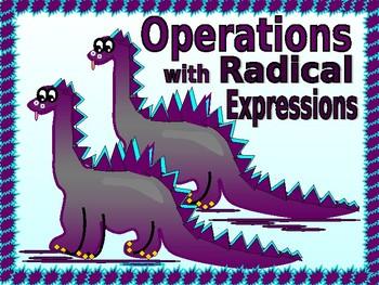 Power point:  Operations with Radical Expressions and GUIDED NOTES