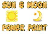 Power point: Sun and Moon  (Interdisciplinary Science & Reading)