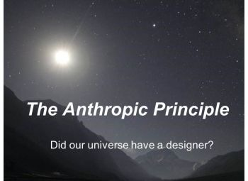 Power point: The Anthropic principle