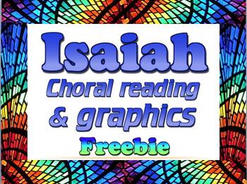 Bundle: Isaiah choral readings & graphics