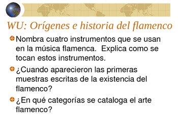 Power point sobre el flamenco (música y fiestas populares)