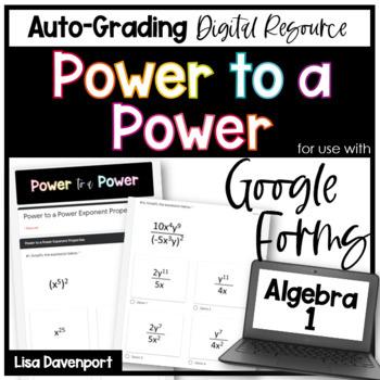Power to a Power (Google Forms) Homework