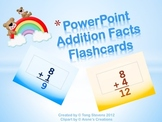PowerPOINT: Addition Flashcards Sums 0-15 (2 Files)