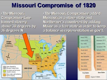 1850s Road to Secession -- Events Leading to Civil War PowerPoint