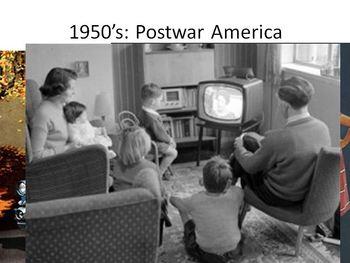 PowerPoint 1950s Post War America&Warren Court