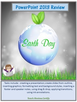 PowerPoint 2013 Review Activity:  Earth Day