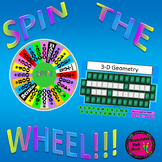 PowerPoint 8th Grade Math STAAR Wheel of Math Vocabulary game