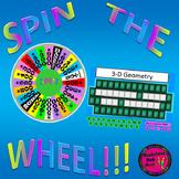 PowerPoint 8th Grade Math STAAR Wheel of Math Vocabulary game