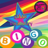 PowerPoint 8th grade Math STAAR Bingo review game