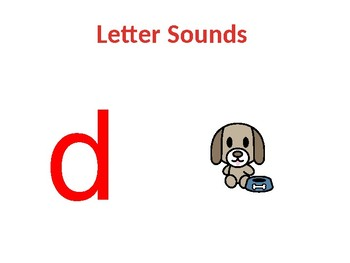 PowerPoint Alphabet Sounds, OA, and AI words (all slides have pictures)