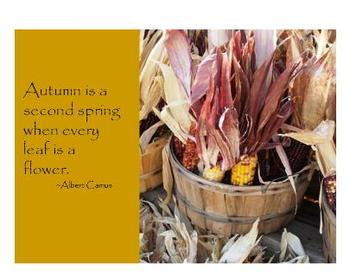 PowerPoint - Autumn Harvest Quotes