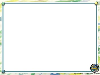 PowerPoint Background green and white