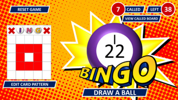 PowerPoint Bingo Caller and Card Generator