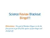 PowerPoint: Blackout Bingo - Earth Science