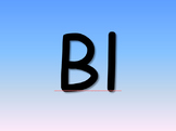 PowerPoint, Blends and Digraphs, Letters with Pictures, 24