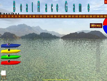 PowerPoint Boat Race Game