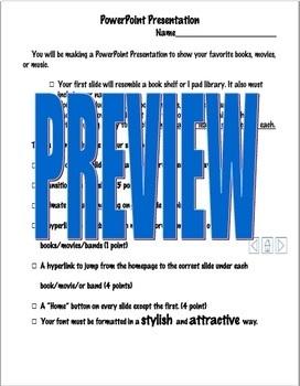 PowerPoint Bookshelf Project