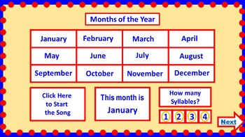PowerPoint Calendar for January