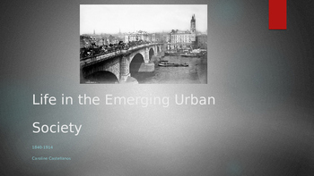 PowerPoint City Life during the Industrial Revolution AP Euro