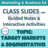 PowerPoint Slides Target Markets & Market Segmentation | Business Marketing 4Ps