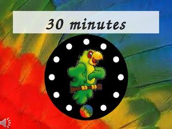 PowerPoint Classroom Timer: Safari/Jungle Theme