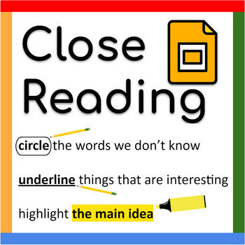 PowerPoint: Close Reading