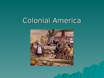 PowerPoint- Colonization of the United States