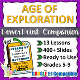 PowerPoint Companion for Age of Exploration & Discovery Interactive Notebook