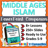 PowerPoint Companion for Middle Ages Islam (Middle East)