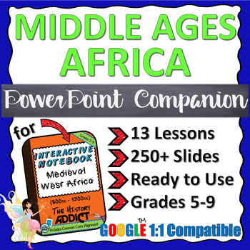 PowerPoint Companion for Middle Ages Africa (Ancient Africa) INB