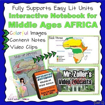 PowerPoint Companion for Middle Ages (Ancient) West Africa Interactive Notebook