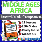PowerPoint Companion for Middle Ages (Ancient) West Africa